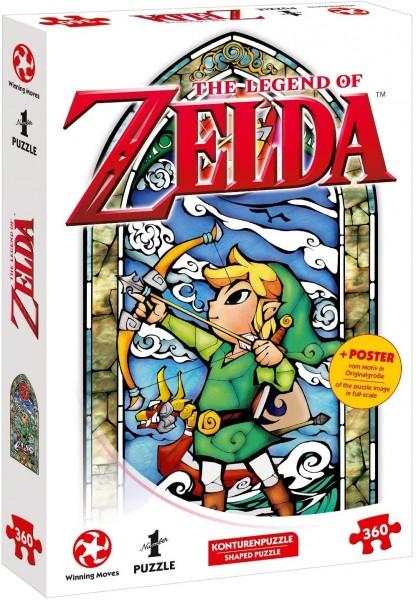 Nintendo - The legend of Zelda - Link-Hero´s Bow Puzzle
