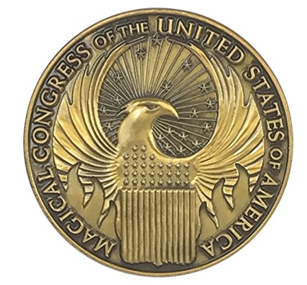 Phantastische Tierwesen - Magical Congress Brosche