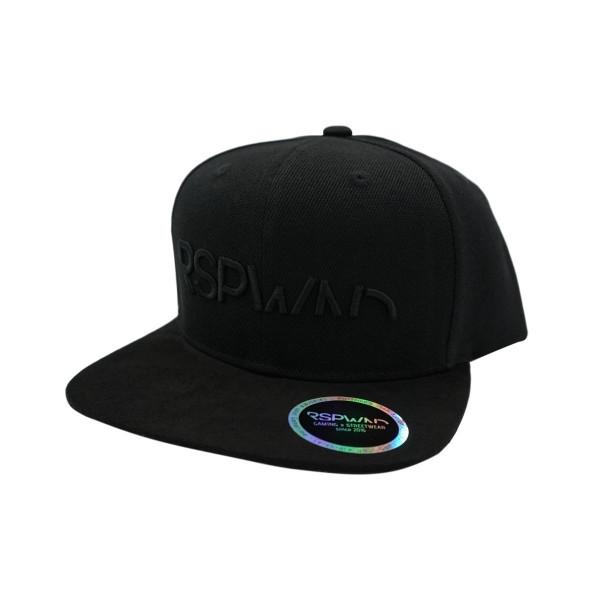 RSPWND - SNAPBACK CAP SIGNATURE BLACK SERIES