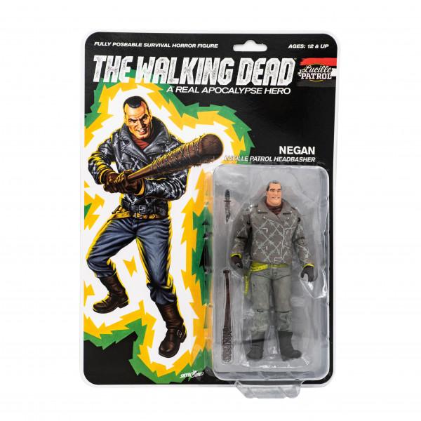 The Walking Dead - Action Figure - Shiva Force - Lucille Patrol Headbasher - Negan