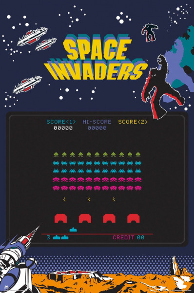 Space Invaders - Poster - FP4274