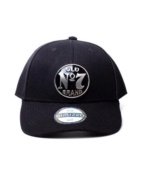 Jack Daniels - No. 7 Logo Metal Badge Cap