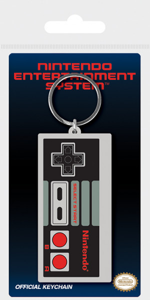 Nintendo - NES Controller - Schlüsselanhänger (Gummi)