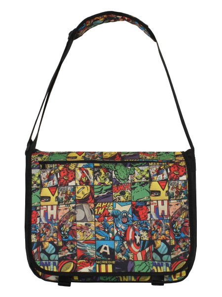 Marvel Comics - All Over Comic Style Messenger Tasche