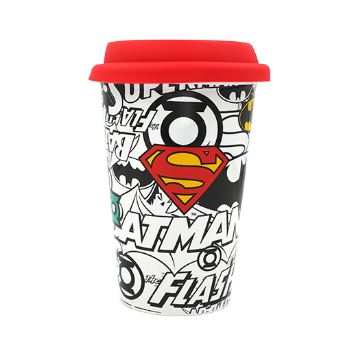 Justice League - Coffee-To-Go-Becher