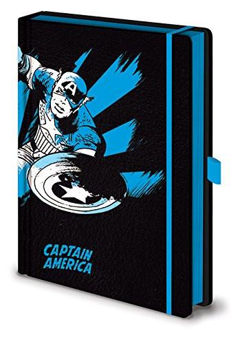 Marvel - Captain America - Premium Notizbuch