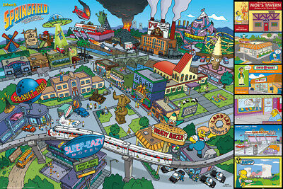 The Simpsons - Poster - FP3935