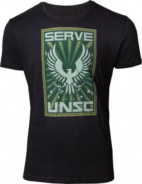 Halo - Serve UNSC - T-Shirt
