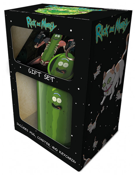 Rick and Morty (Pickle Rick) - Geschenkset