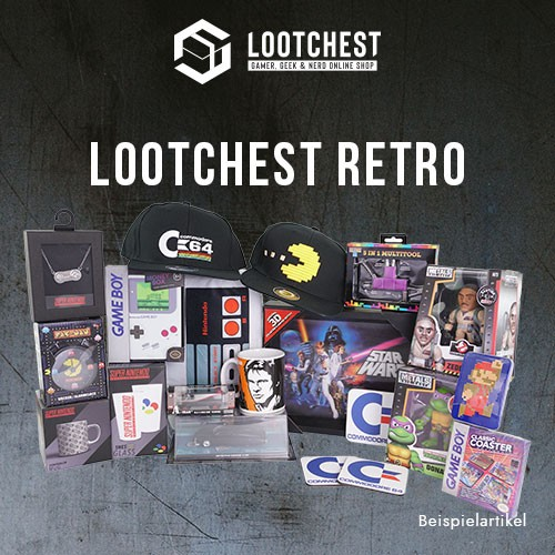 lootchest Retro - Überraschungsbox