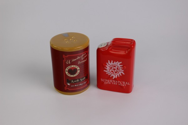 Supernatural - Salt and Pepper Shakers