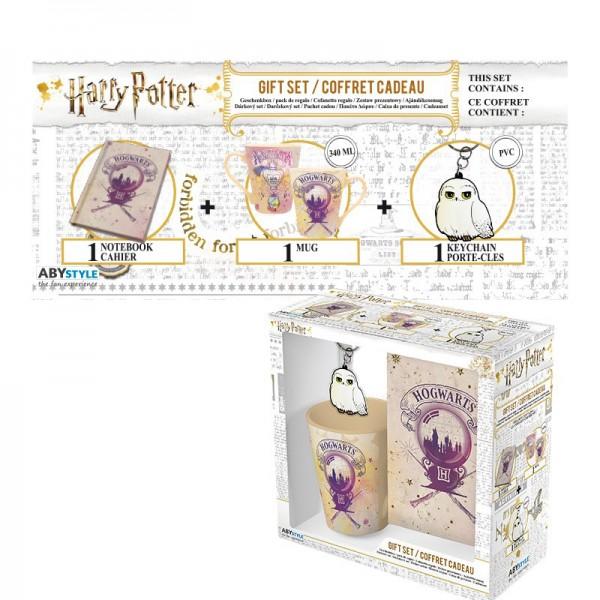 Harry Potter - Geschenkset - Hogwarts
