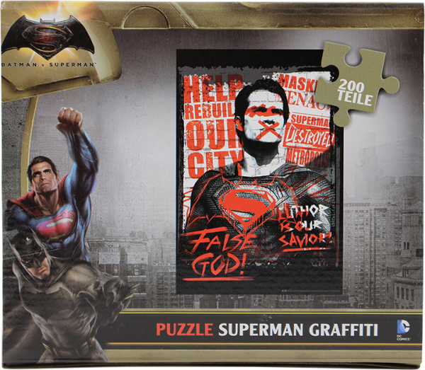 DC Universe - Batman V Superman - Puzzle Superman Graffiti