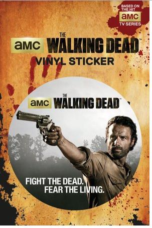 The Walking Dead - Vynil Sticker