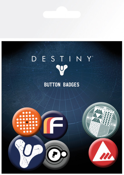 Destiny – Button/Badges (6 Stk.)
