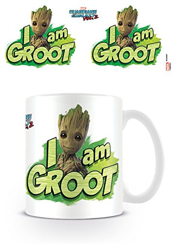 """Guardians of The Galaxy - """"I am Groot"""" - Groot Tasse"""