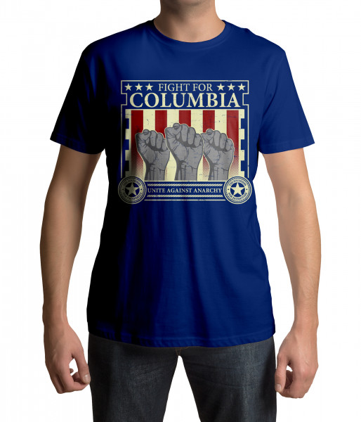 lootchest T-Shirt - Fight for Columbia