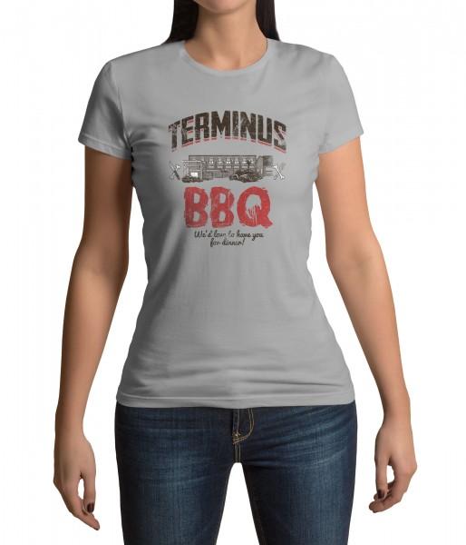 The Walking Dead - Terminus BBQ - T-Shirt - Damen