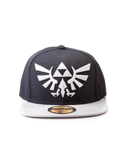 Zelda - Logo Snapback (Grau)