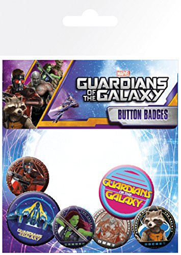 Guardians of the Galaxy-Button Badge Pack