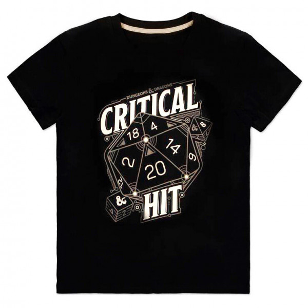 Dungeons and Dragons - Critical Hit - T-Shirt