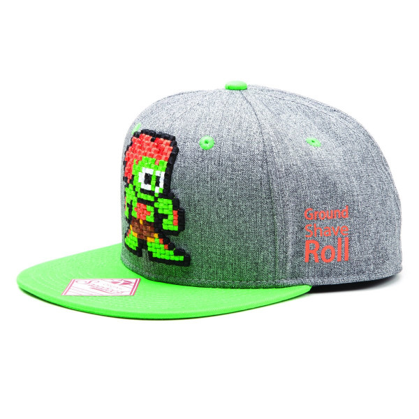 Street Fighter Snapback - Ground Shave Roll