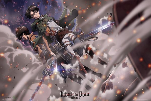 Attack on Titan - Poster - FP3585