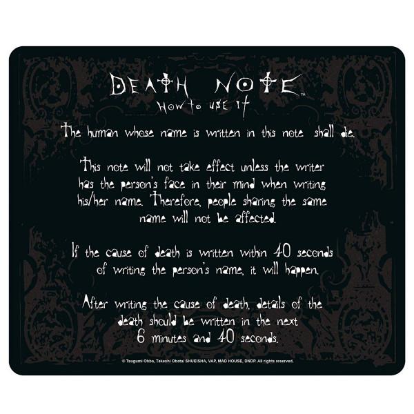 Death Note - Mousepad