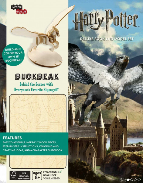 IncrediBuilds: Harry Potter Buckbeak Deluxe Book and Model Set