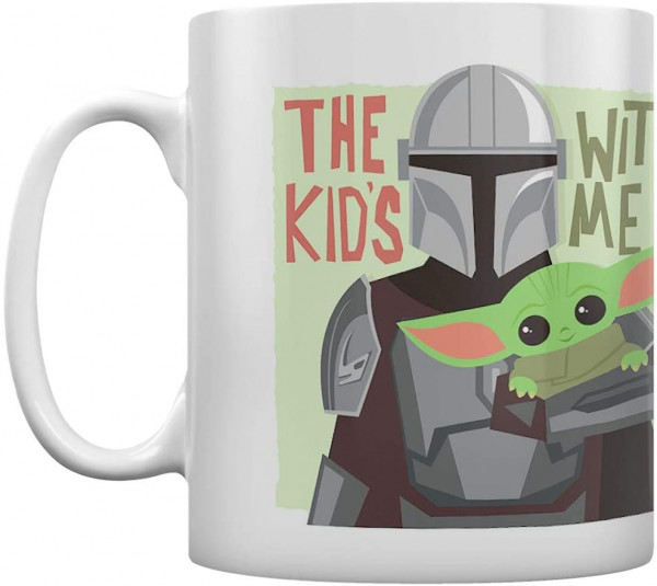 Star Wars - The Mandalorian - The Kids with Me Tasse