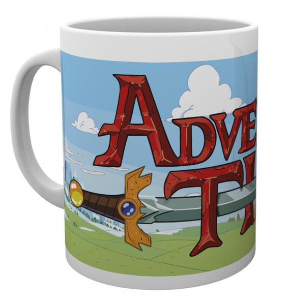 Adventure Time - Logo Tasse