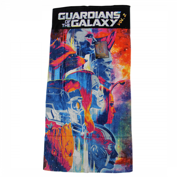 Guardians of the Galaxy Vol.2 - Handtuch - Velourstuch
