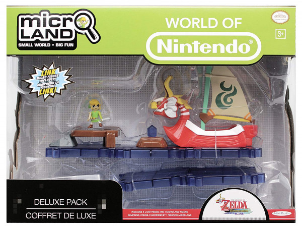 Nintendo Micro Land - The Legend Of Zelda King of Red Lions Series 2 Playset Deluxe