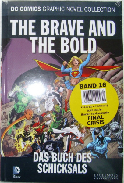 Comic Buch DC Universe Band 16 - The Brave And The Bold (Das Buch des Schicksals)