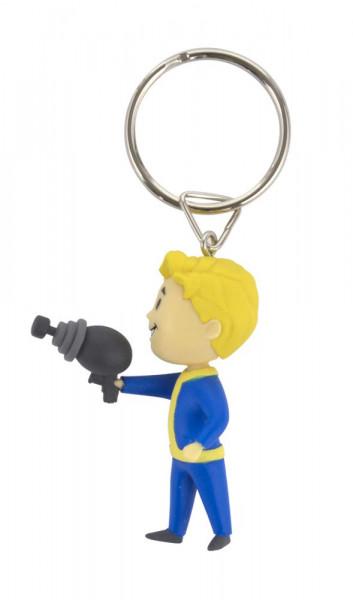 Fallout 76 - Vault Boy Energy Weapons - 3D Schlüsselanhänger