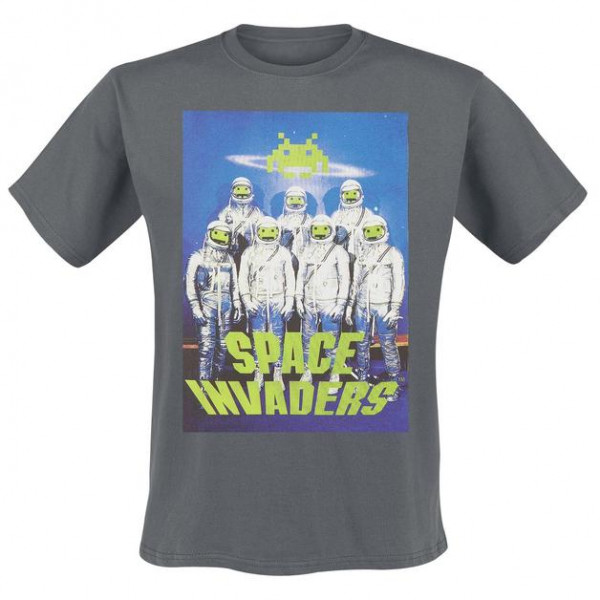 Space Invaders - Astronaut T-Shirt