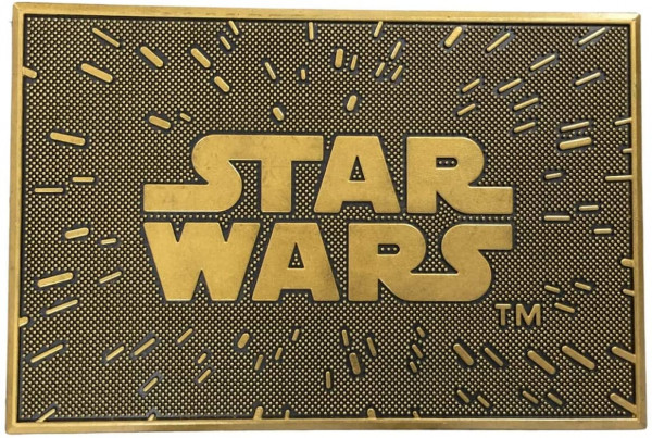 Star Wars - Logo Gummi Fußmatte
