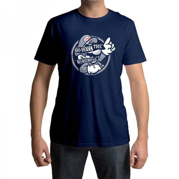 lootchest T-Shirt - Super Mario - Save the Princess