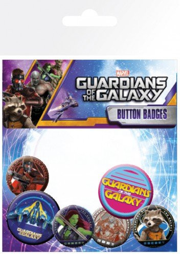 Marvel - Guardians of the Galaxy - Buttons