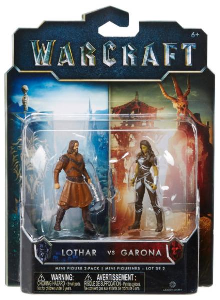 Warcraft - Lothar vs. Garona - Figur