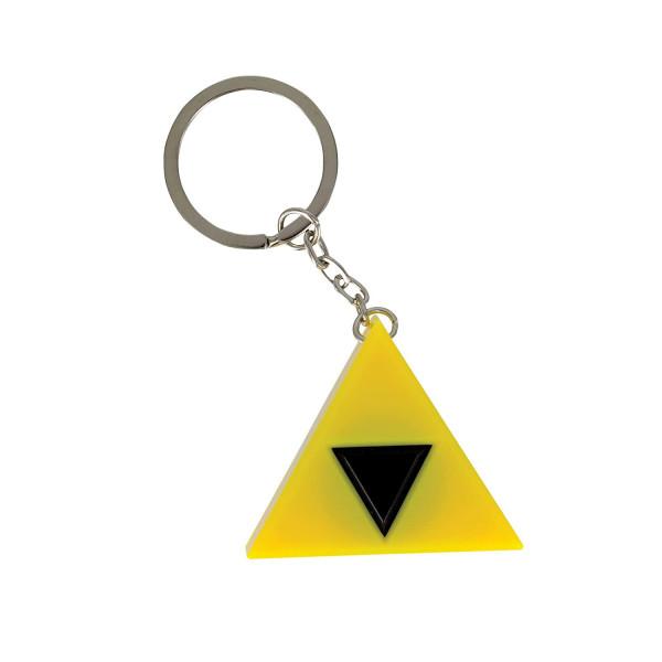 The legend of Zelda - Triforce LED Schlüsselanhänger mit Sound