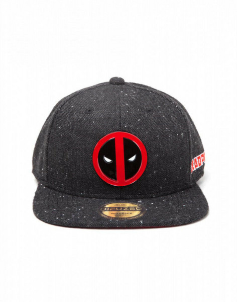Marvel - Deadpool Metal Logo Snapback