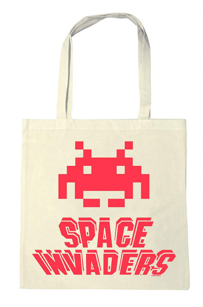 Space Invaders - Jutebeutel