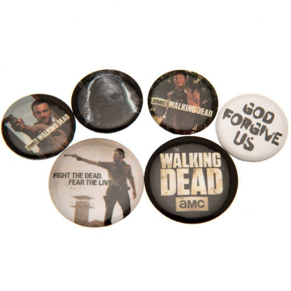 GB Eye The Walking Dead Button Badge Pack