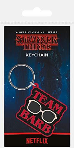 Stranger Things Keychain - Team Barb