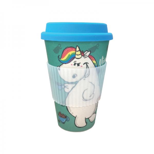 Pummeleinhorn Bambus Mug - Nimm mich mit