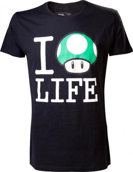 Nintendo - I Love Life T-Shirt