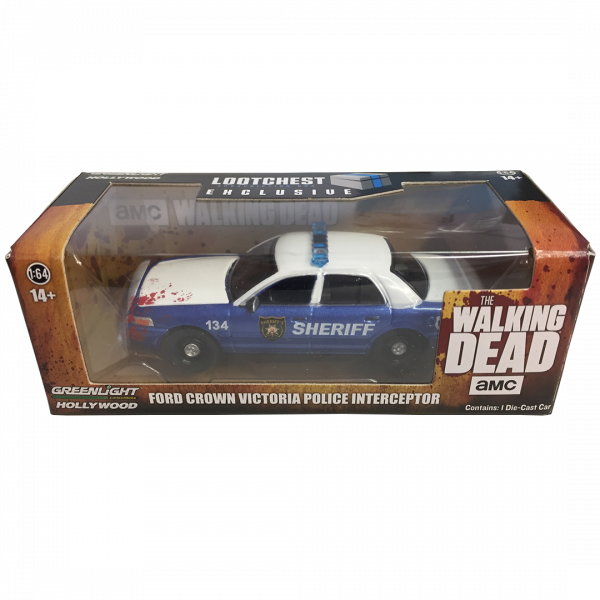 The Walking Dead - Polizei Auto - Police Car