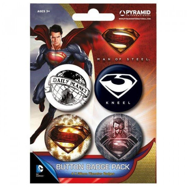 Superman - Button Badges Pack