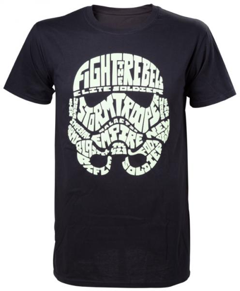 Star Wars - Stormtrooper word play (Glow in the Dark) T-Shirt